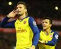 Arsenal - Chelsea Betting Special: Enhanced odds on Giroud or Hazard to score first